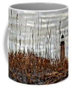 Ponce Inlet Lighthouse In Sea Grass Coffee Mug