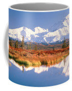 Pond, Alaska Range, Denali National Coffee Mug
