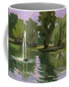 Pond At Fort Dent Tukwilla Coffee Mug