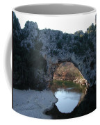 Pond Dark Ardeche France Coffee Mug