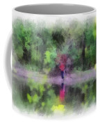 Pond Fishing Photo Art Coffee Mug