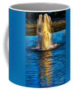 Pond Fountain Coffee Mug