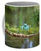 Pond Frog Coffee Mug