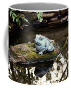Pond Frog Statuette Coffee Mug