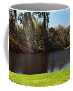 Pond In A Garden, Middleton Place Coffee Mug