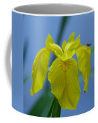 Pond Iris Coffee Mug