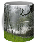 Pond Near Home Farm - Ilam Coffee Mug