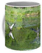 Pond Pairs Dancing Coffee Mug