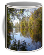 Pond Reflection At Limehouse Ontario Coffee Mug