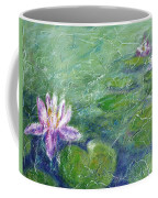 Green Pond With Water Lily Coffee Mug