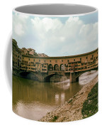 Pont De Vecchio On The Arno Coffee Mug