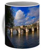 Pont Neuf Over The Seine River Paris Coffee Mug