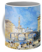 Ponte Santa Trinitia Florence Coffee Mug