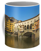 Ponte Vecchio Bridge In Florence Coffee Mug