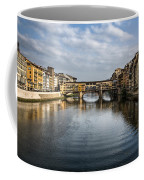 Ponte Vecchio Coffee Mug by Dave Bowman