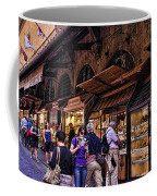 Ponte Vecchio Merchants - Florence Coffee Mug