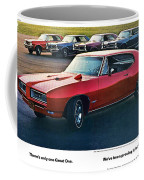 Pontiac Gto - 1964 1965 1966 1967 1968 Coffee Mug