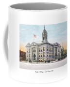 Pontiac Michigan - Ponitiac Court House - 1910 Coffee Mug