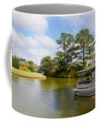 Pontoon Boat Ride On The Lake Coffee Mug