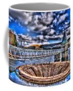 Pontsticill Reservoir Merthyr Tydfil Coffee Mug by Steve Purnell