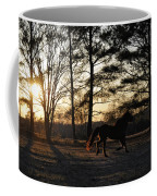Pony's Evening Pasture Trot Coffee Mug