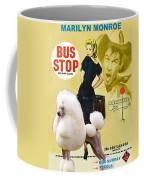 Poodle Standard Art - Bus Stop Movie Poster Coffee Mug