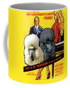 Poodle Standard Art - Love Is My Profession Movie Poster Coffee Mug