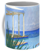 Pool Cabana Morning Coffee Mug