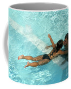 Pool Couple 9717b Coffee Mug
