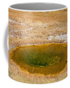 Pool In Upper Geyser Basin In Yellowstone National Park Coffee Mug