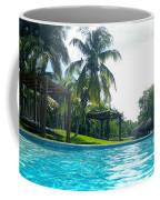 Pool Panorama Coffee Mug