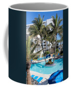 Miami Beach Poolside 03 Coffee Mug