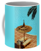Poolside Relaxation Coffee Mug