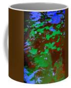Poolwater Abstract Coffee Mug