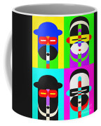 Pop Art People 4 2 Coffee Mug