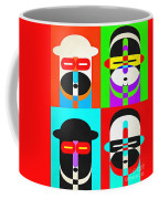 Pop Art People Quattro Coffee Mug
