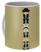 Pop Art People Totem 3 Coffee Mug
