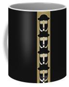 Pop Art People Totem 5 Coffee Mug