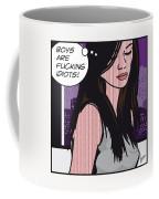 Pop Art Porn Stars - Caprice Coffee Mug