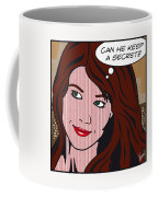 Pop Art Porn Stars - Mia Sollis Coffee Mug