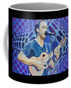 The Dave Matthews Band Op Art Style Coffee Mug