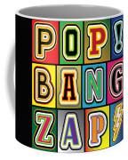 Pop Words Coffee Mug