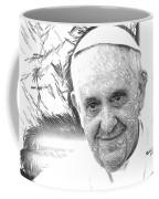 Pope Francis - Jorge Mario Bergoglio Coffee Mug
