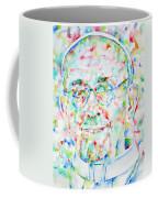 Pope Francis Watercolor Portrait Coffee Mug