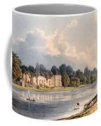 Popes Villa At Twickenham, 1828 Coffee Mug