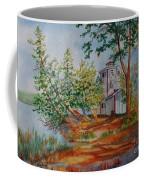 Poplar Point Lighthouse Coffee Mug