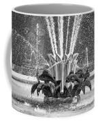 Popp Fountain In City Park Bw Coffee Mug