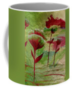Poppies Abstract 3 Coffee Mug