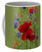 Poppies And Cornflowers Coffee Mug