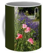 Poppies And Lavender Coffee Mug